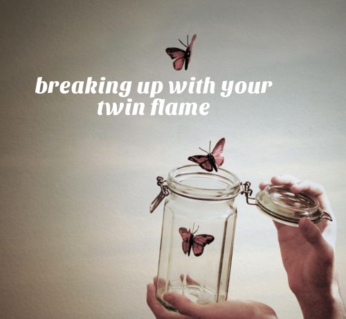 break up with twin flame runner