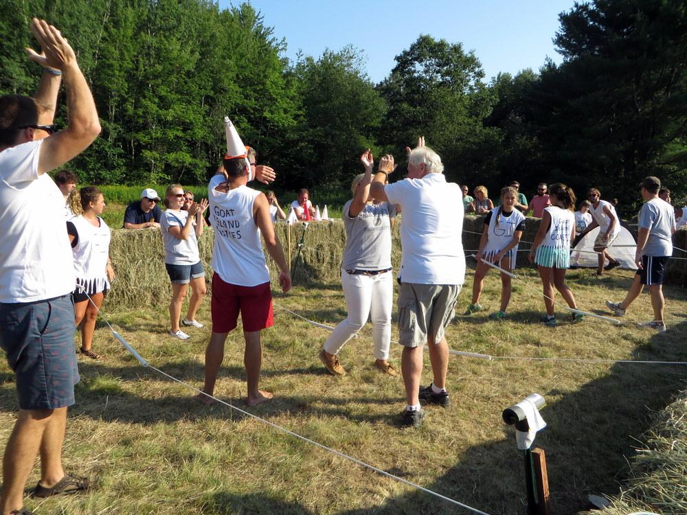 Bradbury University Team celebrates a victory.JPG