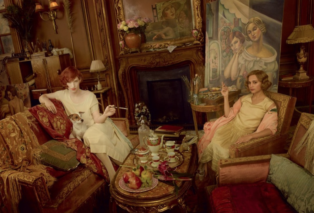 The Danish Girl for US Vogue. Photography Annie Leibovitz.