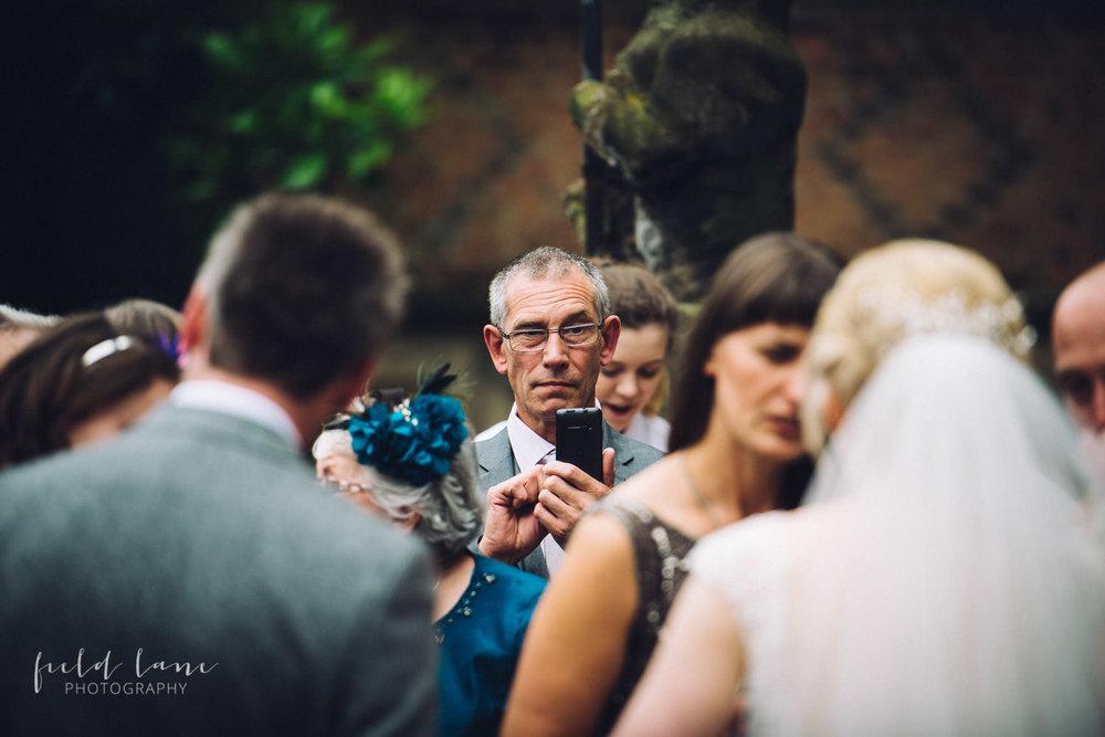 Ingestre hall wedding photography