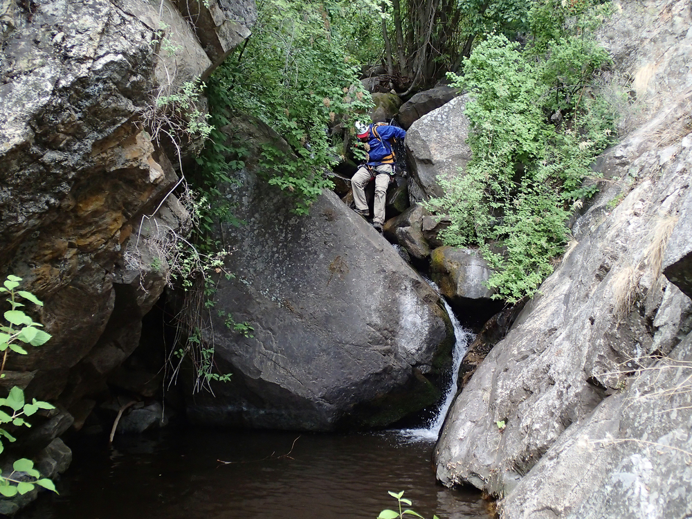 Ash Creek Canyon - Canyoneering, AZ