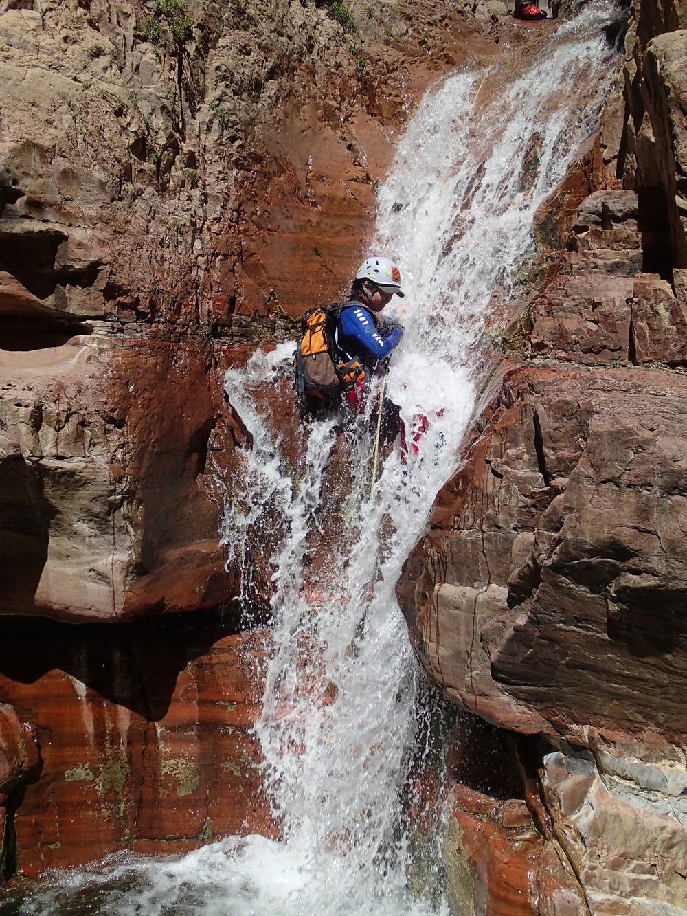 Parker Creek Canyon - Canyoneering, AZ