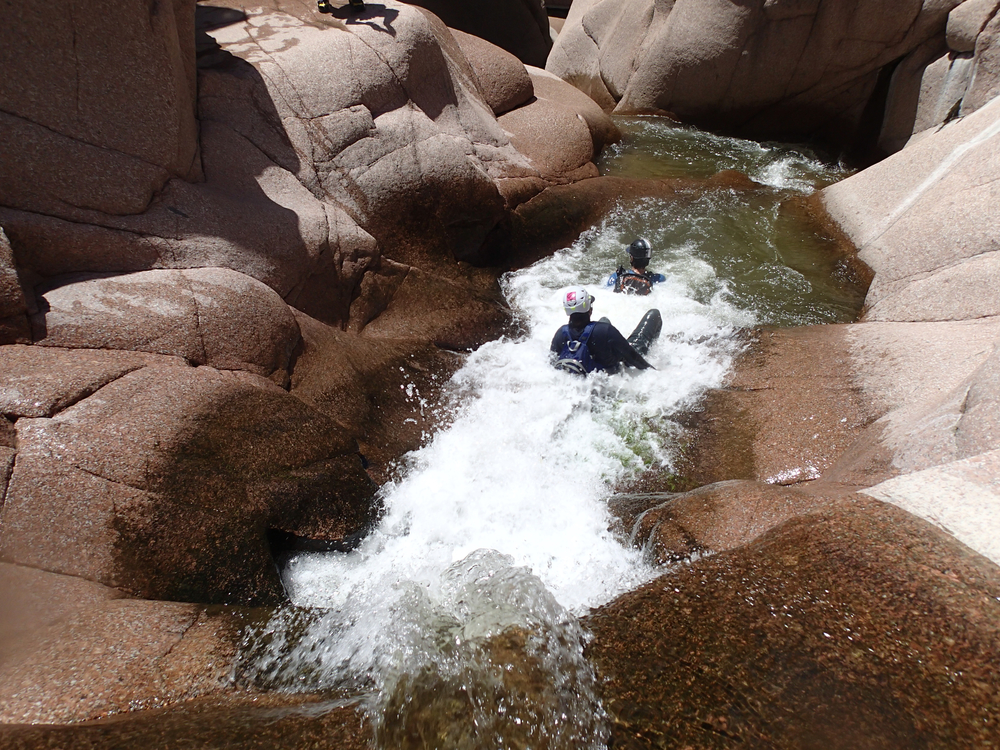 Salome Creek (The Jug) Canyon - Canyoneering, AZ