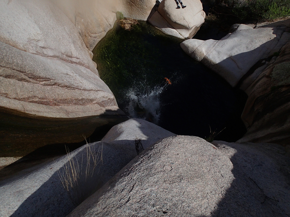 Waterslides Canyon, AZ - On Rope Canyoneering