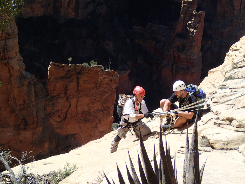 Mormon Canyon, AZ - On Rope Canyoneering