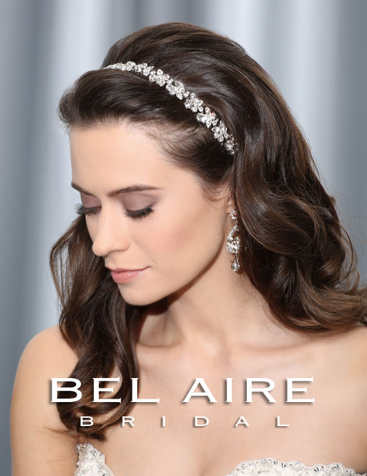 6309   Flexible rhinestone headband