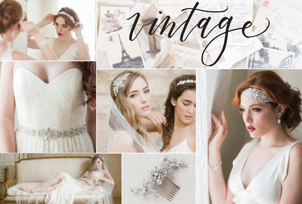 Vintage Bridal Style Bel Aire Bridal