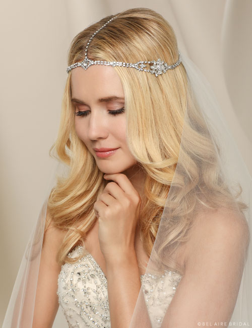 6502   Bohemian rhinestone chain headpiece