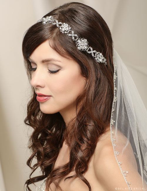 6511   Headband of linked motifs