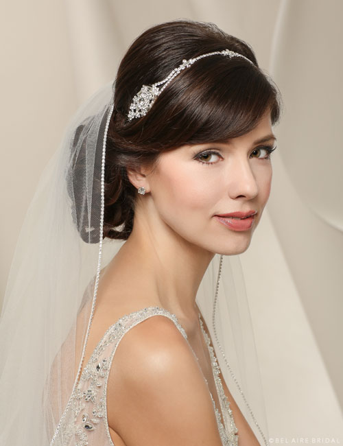 6515   Flexible rhinestone headband