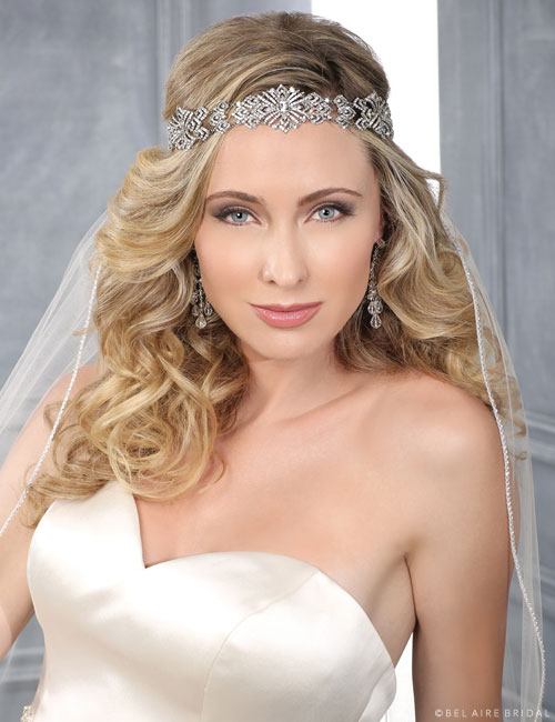 6400 Art Deco Rhinestone headband