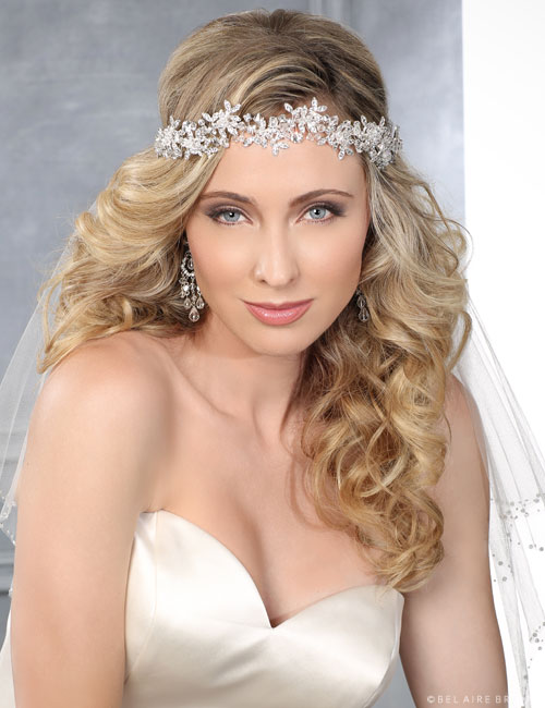 6420 Rhinestone and crystal headband