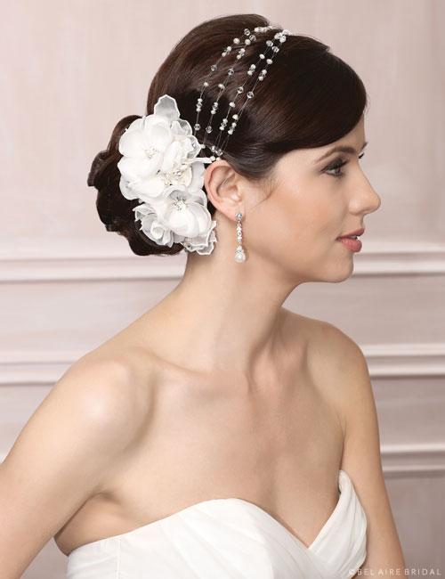 6477   Pearl & crystal hair vine