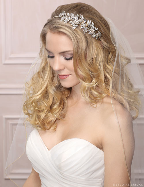 6482 Rhinestone side design headband