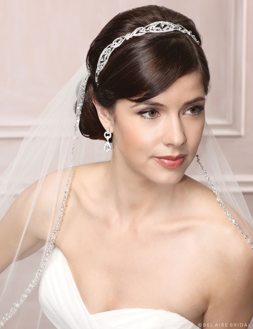 6494 Art Deco rhinestone headband
