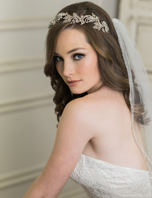 6706   Swirling rhinestones headband