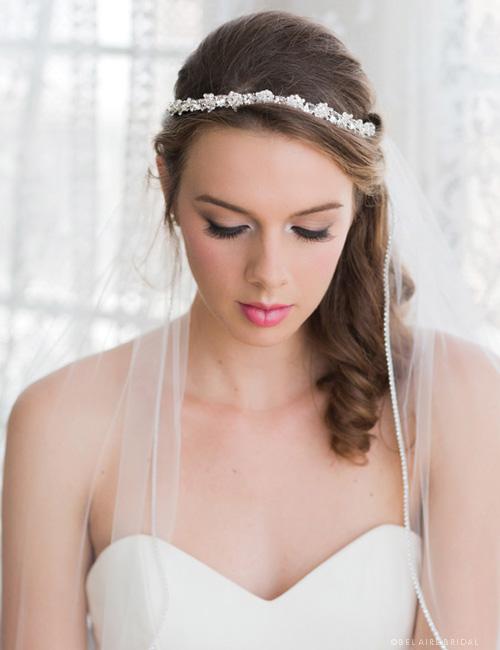 6284   Classic contour tiara