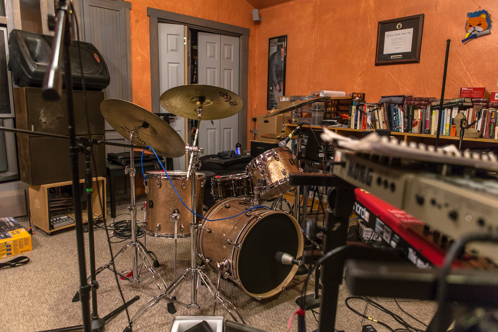 Borrisokane's practice space in South Austin.