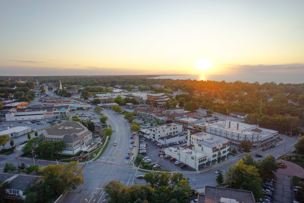 Perched above where the Rocky River meets Lake Erie, Downtown River serves residents and welcomes visitors to enjoy its distinctive style and friendly appeal.   Click here to take an aerial tour of Downtown River.