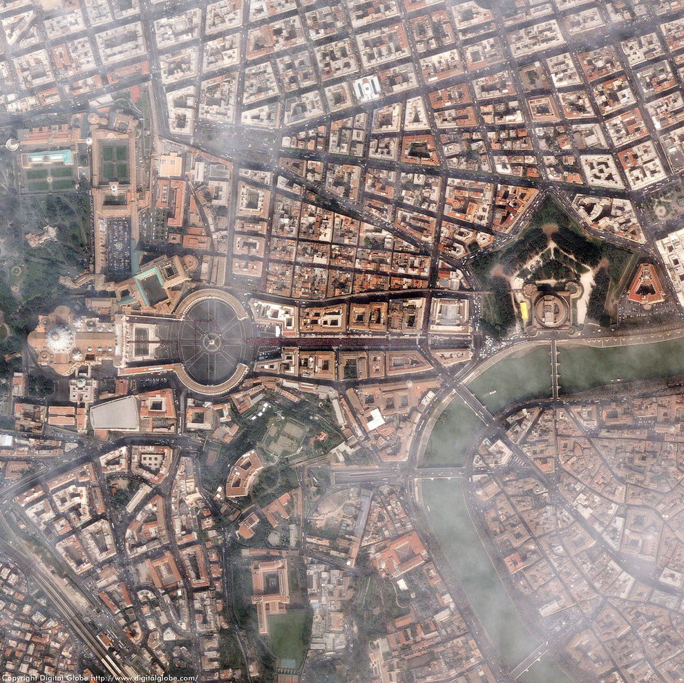 Vatican City    The tiny city-state in the heart of Rome stretches over only 110 acres and is home to only 839 people. It's also worth about $15 billion.