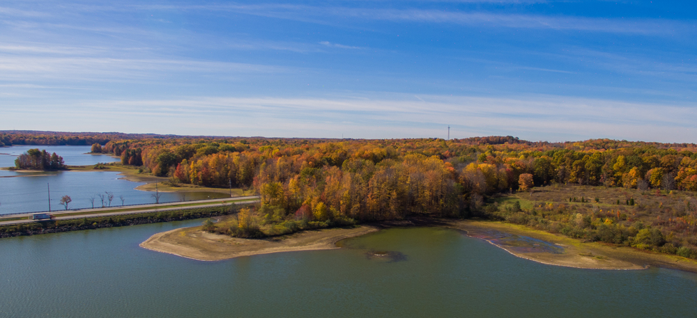 LaDue Reservoir  in Geagua County