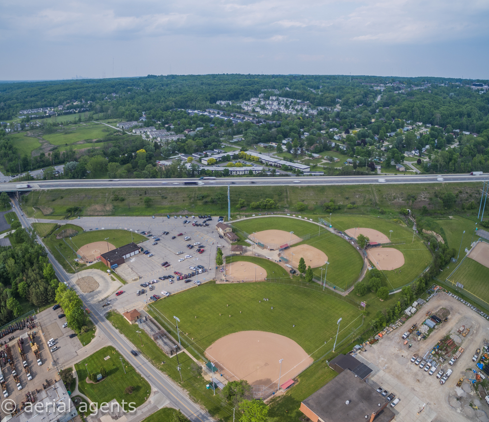 York Road Baseball Diamonds