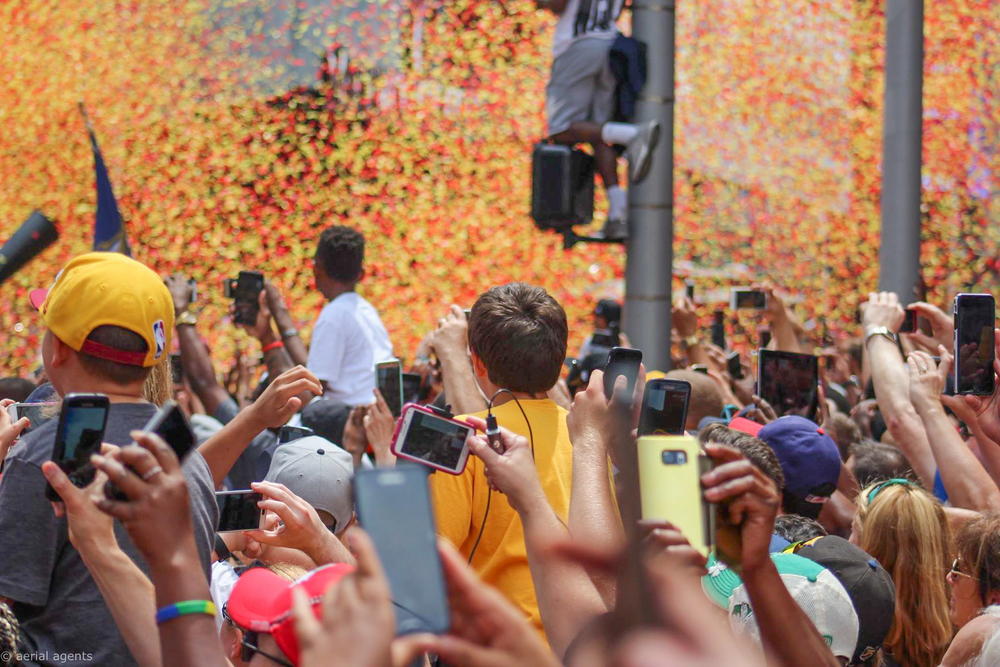 Cavs Parade celebrations