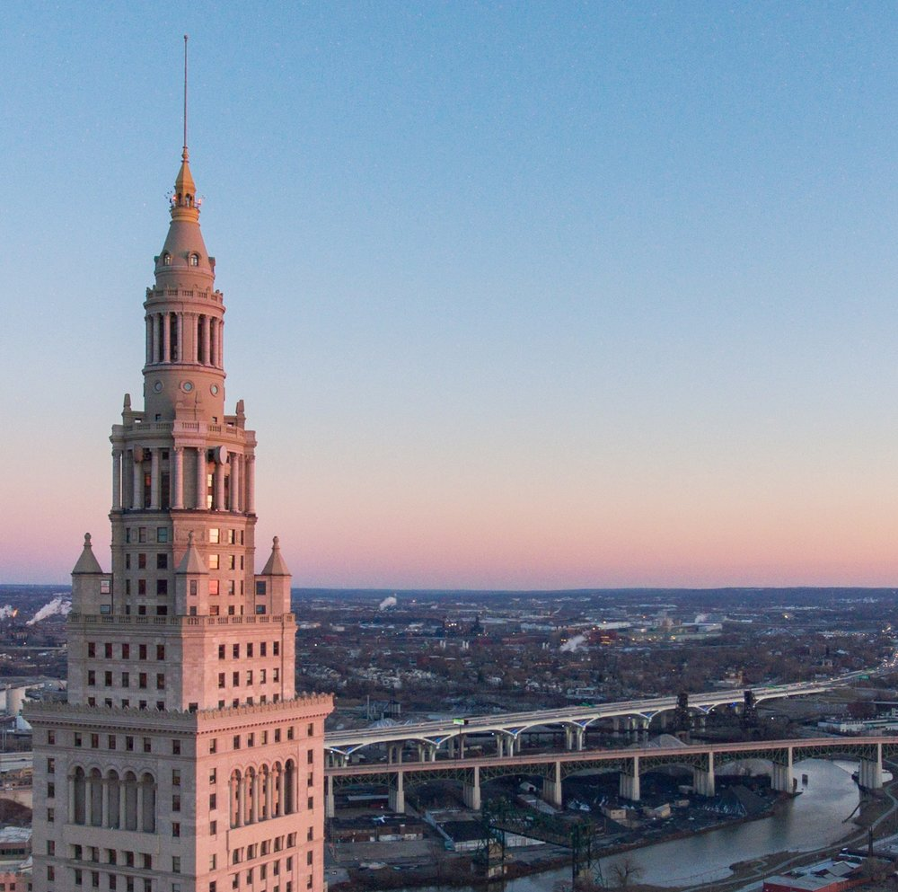 Terminal Tower at Golden Hour
