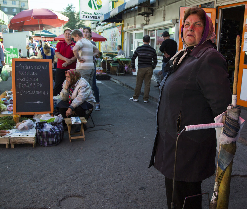 A market in Kiev.