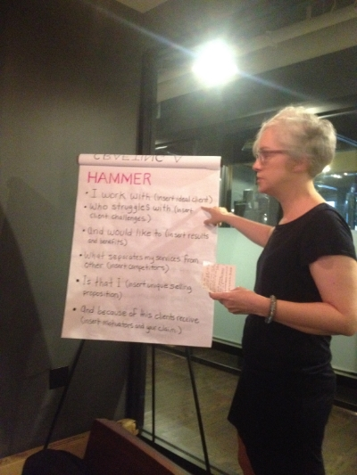 craftIng the perfect elevator pitch