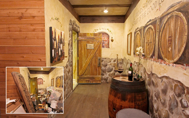 Before & After: The Wine Room