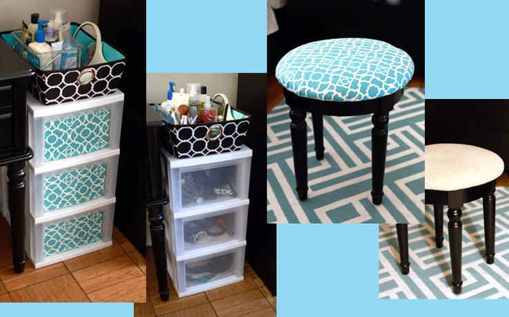 Before & After: Small pattern touches brighten and harmonize a space