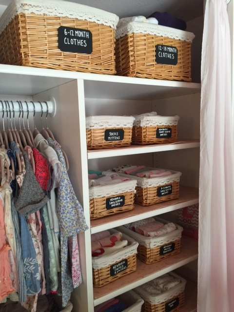 3 Ways To Organize Baby Clothes Space To Love