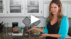 Watch Christel's Organizing Tip Clips!