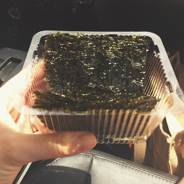 Nothin' like a little pre-game seaweed. Monty's vote = best thing ever. s/Doss' vote = most disgusting thing ever