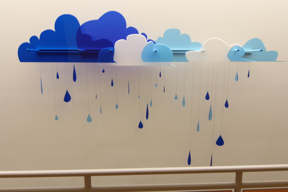 Wind & Rain Wall Mural
