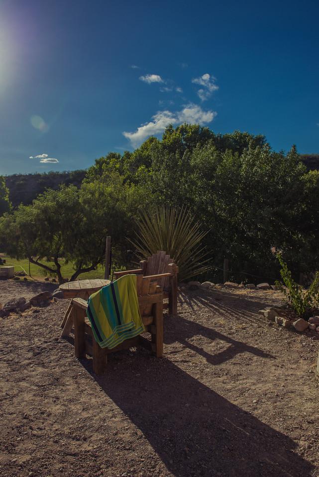 The Desert Oassis.Chinati Hot Springs, Ruidosa, Texas.
