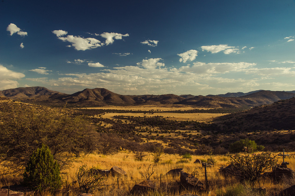 Davis Mountains. Fort Davis, Texas.