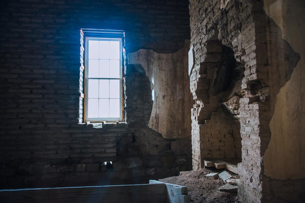 Fort Ruins.Fort Davis, Texas.