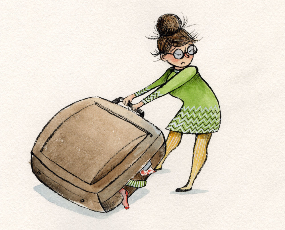 Big suitcase