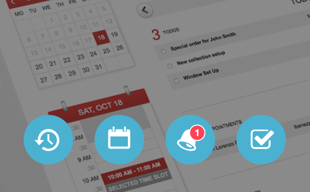 Your Retail Calendar - Staff schedules, appointments, To Dos, reminders, and notifications all live in one place to make the best of your team's time and resources.