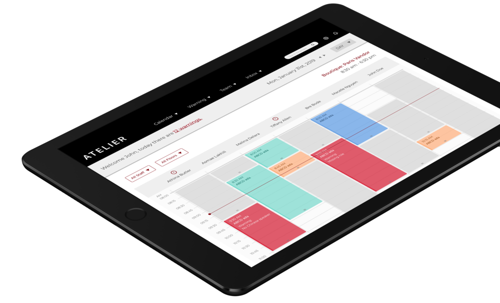 Suite 3: Productivity - Clientela provides sales associates, store managers and executives with a set of solutions that help them stay ahead of the game by allowing them to use their time more efficiently.Learn more