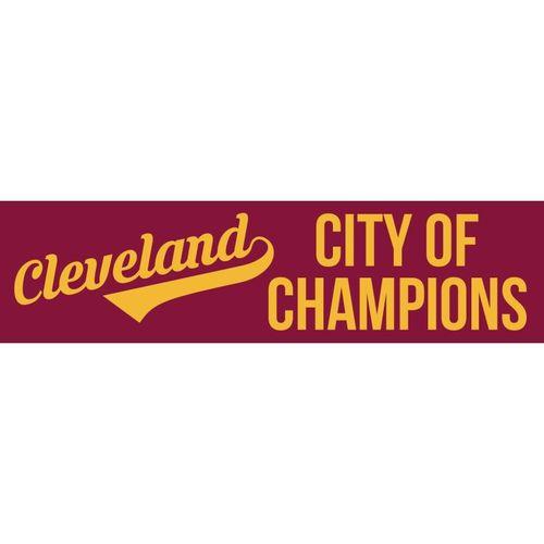 City of champions bumper sticker 2 pack