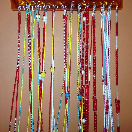 Raining waist beads; reign in your waist beads