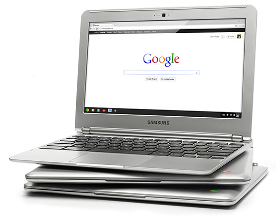 Google Chromebook Computer x4