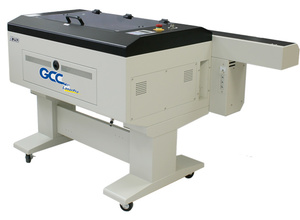 GCC X252 Laser Cutter - This is the smallest but easiest to use of our laser cutters. With a work area of 635 x 458 mm it is up to most tasks. Price: £30/hour
