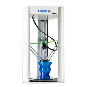 Wasp Delta Ceramic 3D printer - Made in Italy, this Delta type printer boasts a 20 ø built plate and can print objects as high as 40 cm with resolution up to 50 microns. It is a versatile printer that can cope with a whole range of materials from PLA to ABS, nylon, polymers and Laywood.