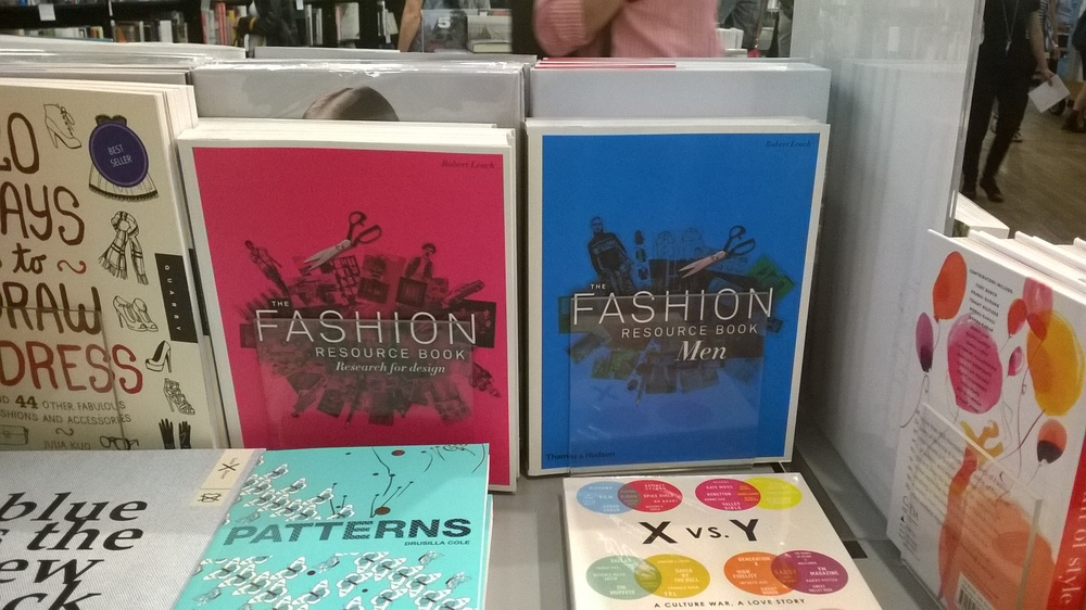 Fashion Resource Book published by Thames & Hudson book design by By The Sky Design studio.