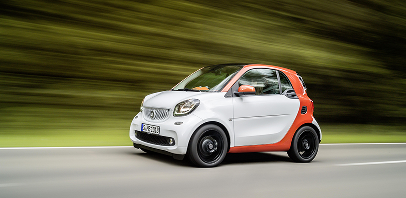 Smart Car ForTwo test drive and review. Surprisingly roomy and bags of fun around corners!