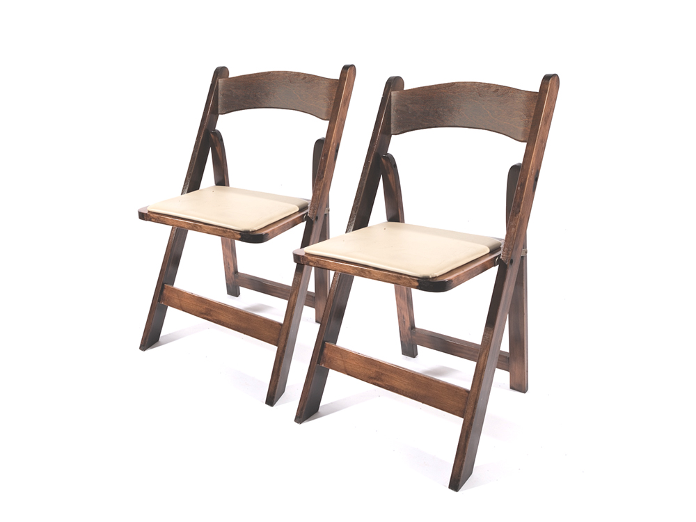 Chairs   Wood Folding